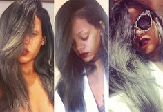 Has Rihanna Been Bitten By the Gray Hair Bug?