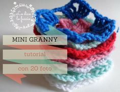 La Mini Granny [ foto-tutorial ] | Lo Dico, lo Faccio http://www.lodicolofaccio.it/2016/11/la-mini-granny-foto-tutorial.html