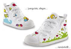 Zapatillas pintadas a mano, con diseños personalizados. Converse, Victoria, botas, zapatillas de lona...