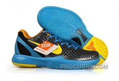 quality design a8c52 5f2a0 Nike Zoom Kobe Vi Mens Silver Blue Black Yellow, Price 84.00 - Stephen  Curry Shoes Under Armour Store Online