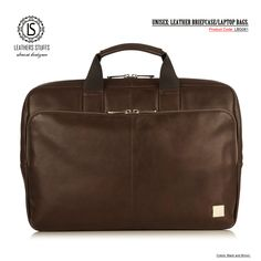 MEN'S & WOMEN'S: UNISEX: LEATHER BRIEFCASE LAPTOP BAGS.  Colors: BlacK, Brown. Product Code: LBG061 Price-$150  100% Guaranteed Pure Leather. Delivery: 10 to 15 Working Days 50% Discount on all our Products. Limited Time Offer. Free Shipping on Orders Over $100. Laptop Bags, Leather Briefcase, Gym Bag, Delivery, Unisex, Pure Products, Free Shipping, Colors, Brown