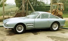 This 1967 Trident Clipper V8 is one of only about 130 ever made and is a true rocket with a Ford V8, fiberglass Fissore bodywork, and a Healey 3000 chassis