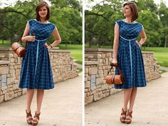 Jessica Quirk, What I Wore, What I Wore Today, Outfit Blog, Fashion Tumblrs, Butterick 52 Retro pattern (B4790), Home sewing, vintage patterns, Butterick patterns, How to wear vintage