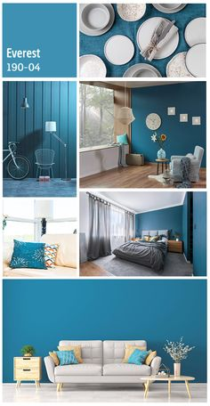 Paint Colors For Living Room, Paint Colors For Home, Room Paint, Bedroom Color Schemes, Bedroom Colors, Room Decor Bedroom, Home Wall Colour, House Colors, Color Combinations Home