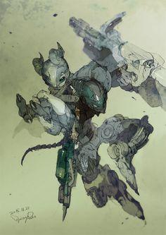 Character Concept, Character Art, Concept Art, Robot Art, Robots, Estilo Anime, Character Design References, Character Design Inspiration, Manga Art