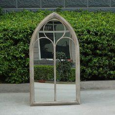 Ellister Church Window Garden Mirror on Sale Gothic Windows, Church Windows, Garden Windows, Garden Mirrors Uk, Garden Arches, Arch Mirror, Window Mirror, Gothic Mirror, Outdoor Mirror