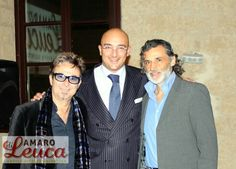 Saverio Scattaglia con Enrico Lo Verso e Mauro di Domenico...Tricase Salento Film festival #salento #leuca #scattaglia
