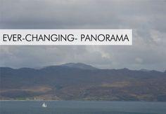 SBH-Views-(Panorama), Der Blick aus dem Fenster Skye Haus zum schottischen Festland und den Highlands, Wasser über den Sound of Sleat, der Garten von Skye, Aussicht von unserem Haus selbst zu bauen, ein Haus zu bauen, sleat, Insel Skye, Schottland, Großbritannien, SBH-views-(Panorama), udsigten fra Skye Window House til det skotske fastland og det skotske højland, vand over Øresund for Sleat,