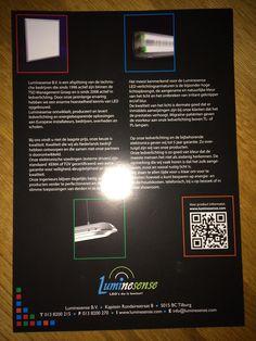 Deze folder van Luminesense B.V. geeft aan hoe het bedrijf ontstaan is, waar het bedrijf voor staat, wat het wil bereiken en waarom Luminesense B.V. zich onderscheidt van anderen.