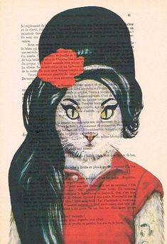 Hey, I found this really awesome Etsy listing at https://www.etsy.com/listing/195432130/amy-winehouse-cat-print-poster