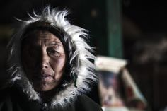 Nepal - This potential climate change victim is a sherpa from Nah village who is aware that if the glacier lake floods, she will be pushed off the edge of the mountain she calls home.