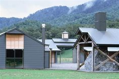 Modern Horse Stable Wilderness Vacation – Poronui New Zealand, very nice interpretation