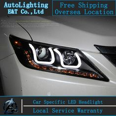 Nice Toyota Camry 2017: 478.95$  Buy now - ali27t.worldwells... - Car styling LED Head Lamp for Toyota C...