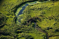 Herd of sheep near the river Arerunguá, Uruguay. Source: YannArthusBertrand.org