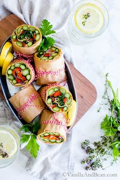 Make ahead for easy weekday lunches, picnics or alfresco dinners; Asparagus Wrap with Whipped Avocado Sun-Dried Tomato Spread. Grill the veggies or roast em' up, I've included vegetarian and vegan options in this recipe! Lunch | Dinner | Picnic |