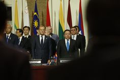 European and Asian leaders pay respect to victims of #Nice attack. We stand united against violence and hatred ASEM11 Mongolia