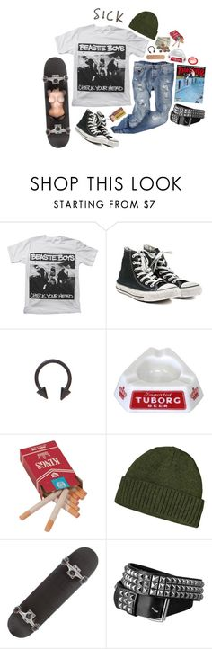"""""""girls // beastie boys"""" by trashpunk ❤ liked on Polyvore featuring Converse and Patagonia"""