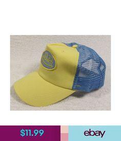 5e90435afb7 GENUINE Von Dutch Mesh Trucker Biker Snapback Hat Cap Adjustable BLUE     ORANGE