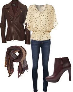 Hottest Fall fashion trends!...wow those shoes look like a killler! love the jacket... Not the heels I would die