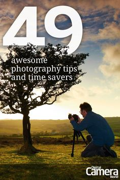 Fitting your photography around the demands of family life (and the working week is often more difficult than figuring out the technical complexities of your camera. To help you get the absolute most from your photography time, we have come up with 49 of the best photography tips and time savers that are guaranteed to get you better results, help you edit your shots with ease and simply enjoy your picture taking more.