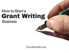 Learn how to start a grant writing business from home #smallbusiness #homebusiness