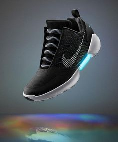 Watching these self-lacing sneakers work is totally mesmerizing