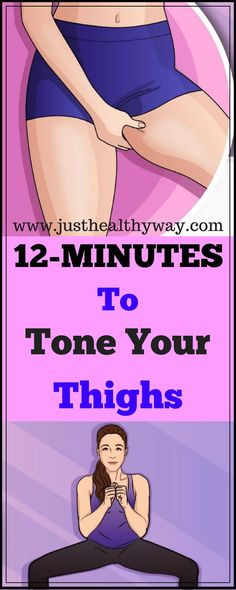 Here Are 12 Minute Workout To Tone Thighs & Burn Fat At Home The hardest area too# Thighs # ​​Training Weight loss Quick Weight Loss Tips, How To Lose Weight Fast, Lose Weight At Home, Loose Weight, Reduce Weight, Weight Gain, Losing Weight In Thighs, Body Weight, 12 Minute Workout