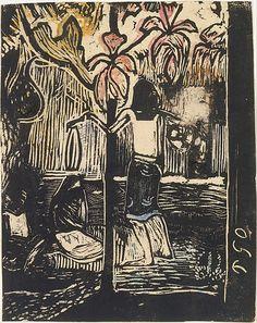 Fragrance (from Noa Noa), Paul Gauguin