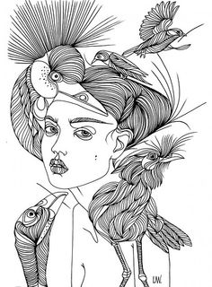 liselotte watkins' fashion illustrations