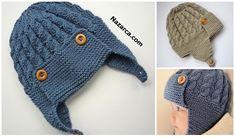 Baby Hats Knitting, Baby Knitting Patterns, Knitted Hats, Crochet Hats, Viking Tattoo Design, Viking Tattoos, Sunflower Tattoo Design, Linen Bag, Homemade Beauty Products