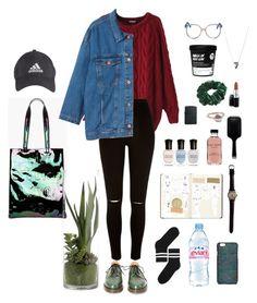 """autumn"" by ddazedconfused ❤ liked on Polyvore featuring Pilgrim, Acne Studios, Wild Pair, Sirciam, Monki, Zippo, FASHIONARY, MAC Cosmetics, Chicnova Fashion and River Island"
