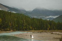 Incredible portraits by Nordica Photography from this scenic mountain wedding