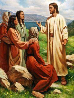 el blog del padre eduardo: Marta, María y otras discípulas de Jesús