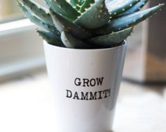 Herb planter | Etsy
