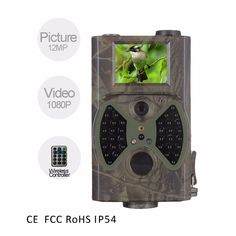 72.00$  Buy here - http://alid5h.worldwells.pw/go.php?t=32756044372 - Free shipping 12MP 940nm NO glow Trail Hunting Cameras Waterproof Black IR Wildlife Trap Game Cameras 72.00$