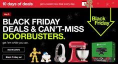 Black Friday Doorbusters LIVE now