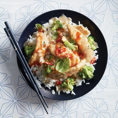 Coconut chicken stir-fry with broccoli - Chatelaine