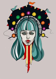 Carnival by Jess Tobin, via Behance Dublin Food, Art Work, Street Art, Carnival, Behance, Events, Drawings, Illustration, Anime