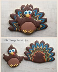 Turkey 2-piece cookie set!! Loved designing this big guy!! Thank you to everyone that attended yesterdays cookie workshop!! It was a blast!! #ottawa2017 #ottawa #ottawaeats #ottawafoodies #ottawabaker #ottawabakingclass #cookiefun #cookieworkshop #royalicing #sugarcookies #sugarart #edibleart #ottawaedibleart #thevintagecookiejar #613baker #turkey #turkeycookie #thanksgiving #thanksgivingcookies