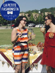 LPF Mag is now live! check out their first issue! Awesome tailgating section with cute dresses, gameday recipes  hosting tips