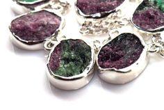 Ruby Zoiste  Handmade Gemstone Sterling by SilverSmithCreations, $195.00