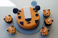 Tiger cake by Coco Cake in Vancouver