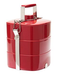 Epicurean 3-Layer Melamine Tiffin Food Box