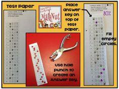 Hole Punch Answer Key