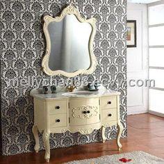 Antique mirror/vanity