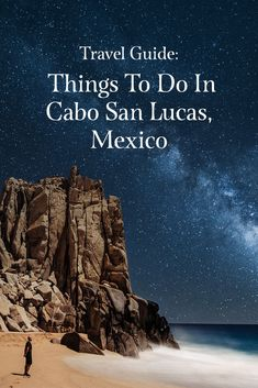 Wondering what you should do in Cab San Lucas, Mexico? We've got a travel guide complete with things to do there. Cabo San Lucas Mexico, Cruise Destinations, Panama Canal, Cruise Travel, Baja California, Pacific Coast, Travel Agency, Beach Trip, Night Life