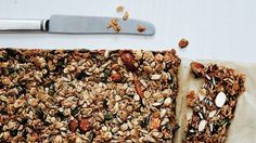 These nutty grain and oat bars are a great way to get grains into your diet on-the-go.