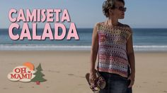 Camiseta Calada Mimi a crochet - YouTube