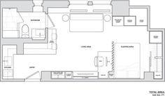 inspiración espacios casas del mundo distribución diáfana diseño de interiores decoración espacios y pisos pequeños decoración de interiores decoración amerciana contemporánea cocinas blancas pequeñas blog diseño de interiores