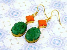 The Green and The Orange by Olena Nechyporuk on Etsy
